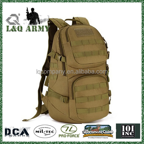 Waterproof Nylon Durable Military Equipment Army Bag For Hike Travel