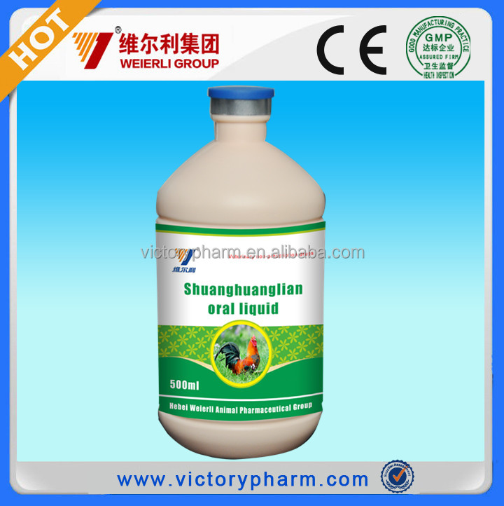 Treat for Poultry flu disease herbal medicine with good function