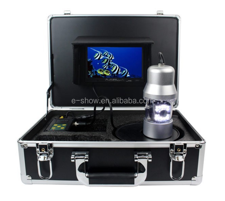 "7"" LCD Underwater Video Camera System Fish Finder GSY8200D <strong>Fishing</strong> Breeding Monitoring 700TVL 14*LED 50M SD Card"