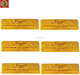 HFC 4150 bulk gold chocolate bar with filling