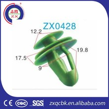 Quality and quantity assured auto plastic fasteners clips retainers