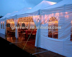Wedding tent, wedding canopy, luxury tent