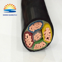 PVC insulated copper PTFE electrical cable for gardens