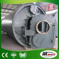 Best price automatic recycling used tyres rubber oil pyrolysis plant
