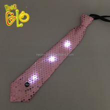 Most Popular Sequin Flashing Christmas LED Neck <strong>Tie</strong> for Costume