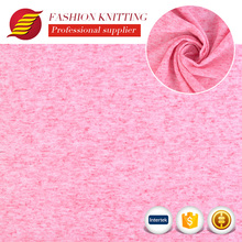 Latest design high quality modern custom soft weft knit poly linen fabric