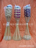 table torch bamboo outdoor decorations hot sells cheaper price H35CM