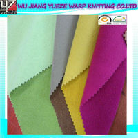 100 polyester fleece fabric, brushed fabric for sportswear