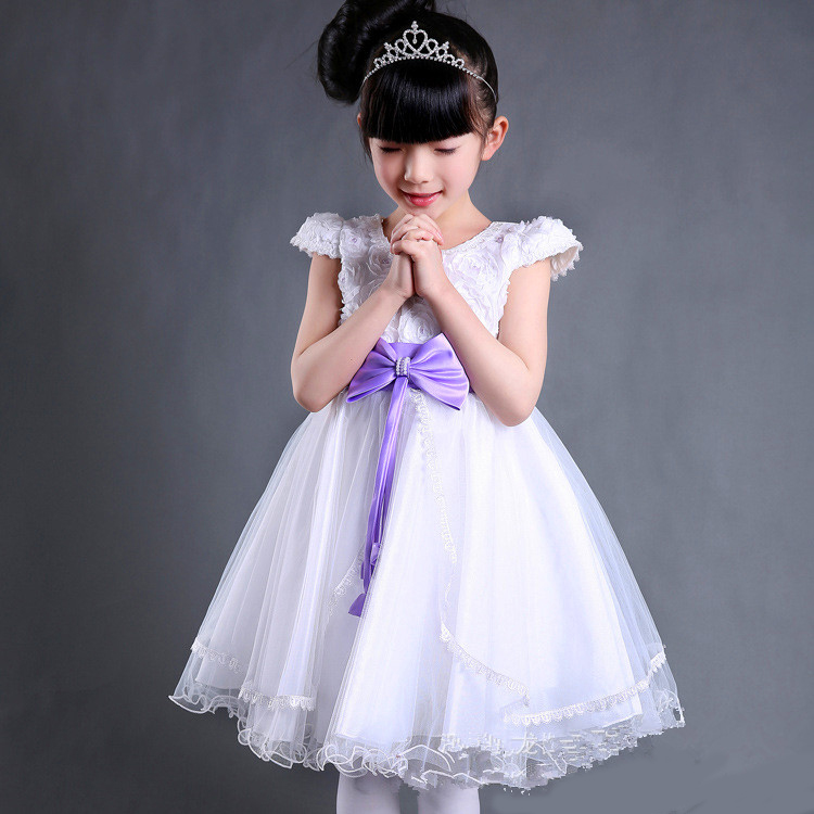 Cute Girl Baby Dress Western Style kids clothing online shopping <strong>L</strong>-74