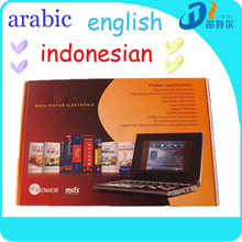 Color touch screen electronic dictionary+handwriting+human voice
