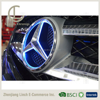 Car Front Grilled LED Illuminated Logo for Mercedes Benz