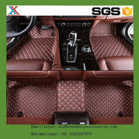 Latest leather car floor mats,3d-4d-5d Pvc Floor Mat
