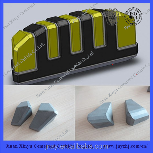 Tungsten Carbide Tips for Forestry Mowers Mulcher Teeth