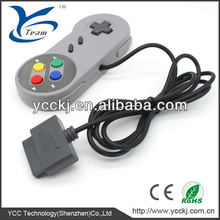 brand new popular video game accessory classic wired controller for snes/super nes/super nintendo china supplier cheapest