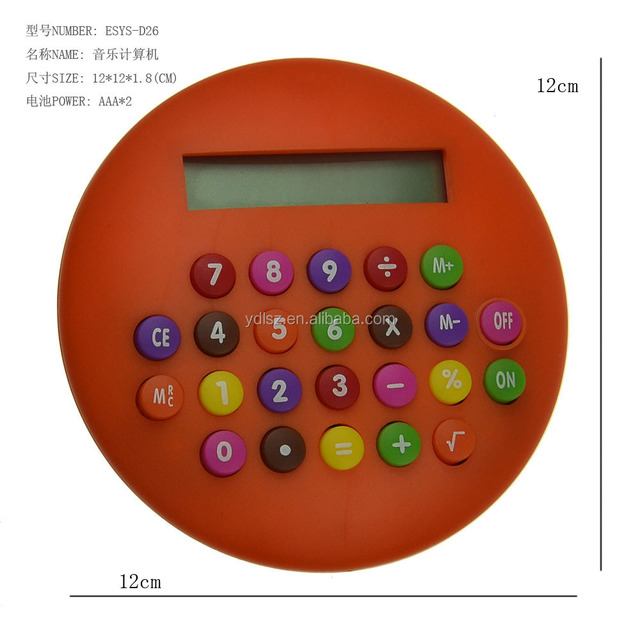 Multi-Color Table Calculator Pocket Caculator for Promotion