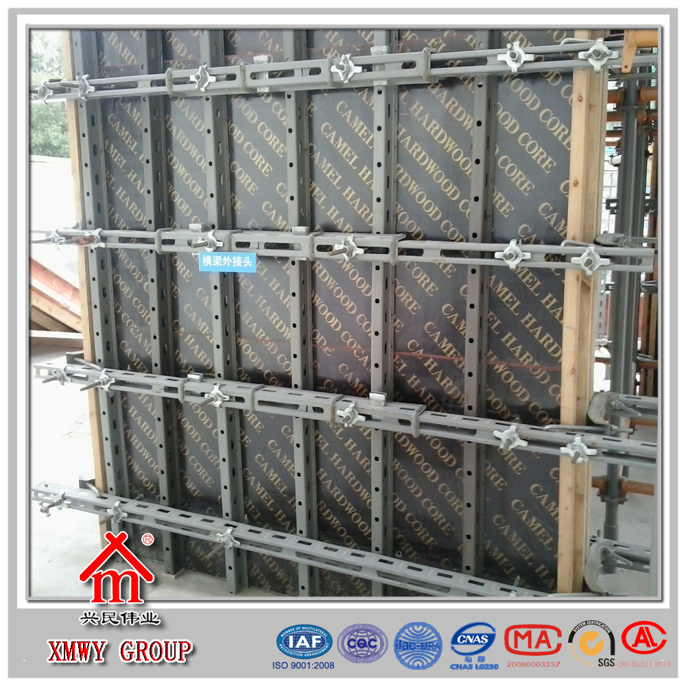 Steel Wall Form : List manufacturers of concrete wall metal forms buy