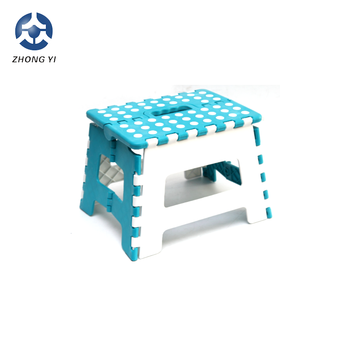 2018 cheap plastic folding step stool for kids