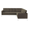 Florence Knoll Leather Furniture Living Room