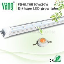 Shenzhen factory led grow light T8 20w supply for hydroponic shop indoor