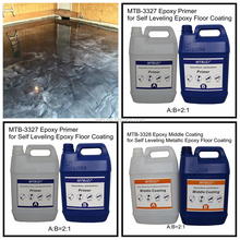Scratch Resistant Metallic Epoxy Floor Coating