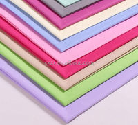 Changxing supplier Fabric 100% polyester microfiber fabric dyed fabric plain cloth 104*74 83gsm hot sale for home textile