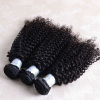 Online shopping cheap wholesale factory price 3 bundles 24inch Afro wave kinky curly indian virgin hair