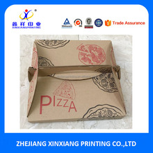 Custom White Cardboard or Corrugated Paper Packaging Pizza Boxes