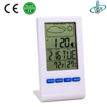 Mini Pocket Size Electronic Calendar / Electronic Weather Station Thermometer