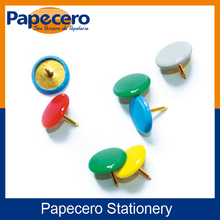 Papecero Custom Assorted Colored Thumb Tacks with Plastic Coated