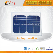 12V System 5W Poly Silicon Low Price Mini Solar Panel