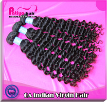 100% full cuticle & high quality virgin india long hair