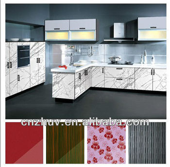 High gloss cupboard door panels full kitchen set buy for Full kitchen cabinet set