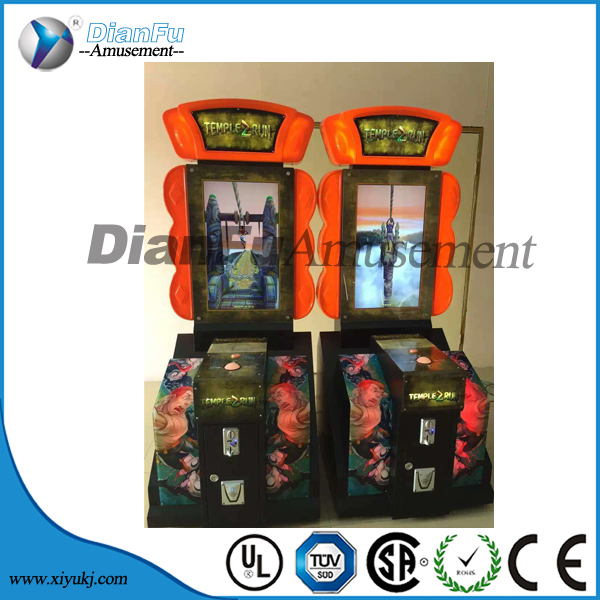 dianfu Temple run 2 indoor simulator lottery game machine skill arcade game machine for shopping mall