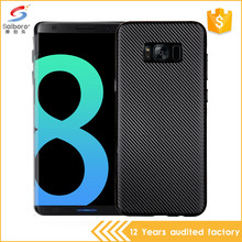 Popular item carbon fiber tpu for samsung galaxy s8 plus case cover