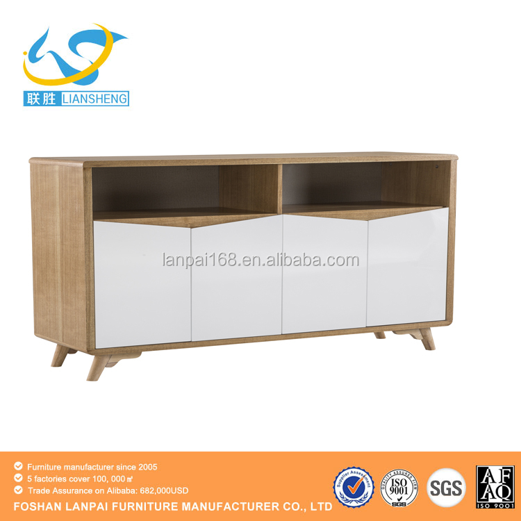 modern living room side cabinets dining wood sideboards