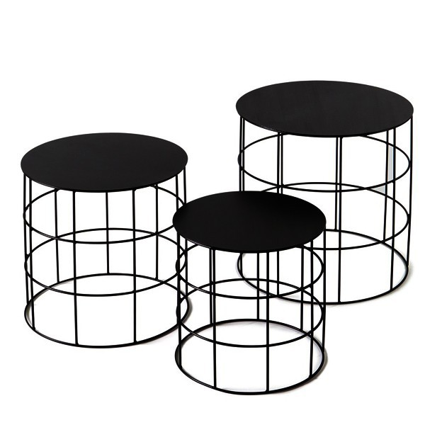 Round wire side table circle coffee table buy round wire for Wire round coffee table