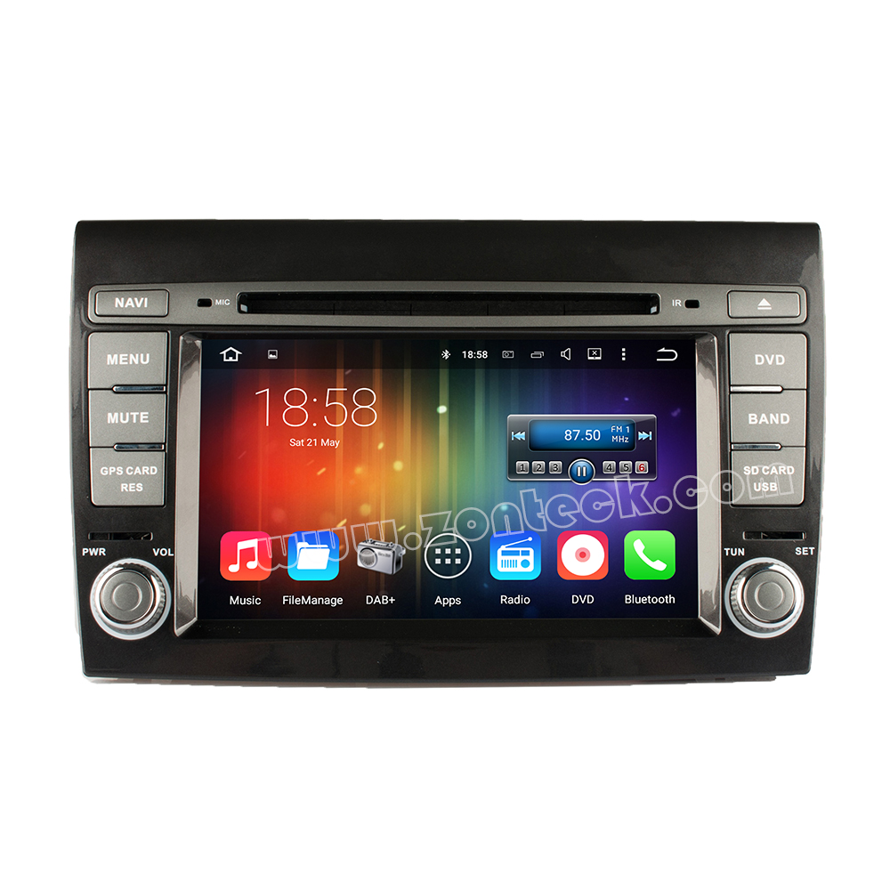 Zonteck ZK-5270F Android 5.1 FIAT BRAVO Car DVD GPS DAB+