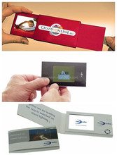 Europe Regional Feature and Card Product Type 2.8 inch LCD Video Business Card