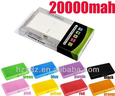Good quality 20000mah smart mobile power ,Power Bank charger all product