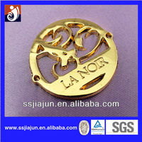 Fashion Custom Metal Logo Plate For Handbags