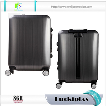 Unique silver big lots funky suitcases TSA lock luggage bag travel luggage