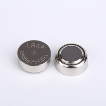 High quality 1.5V Alkaline button cell battery AG13 LR44