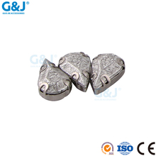 guojie brand wholesale for Embellishments tear shape stainless cup with acylic stones
