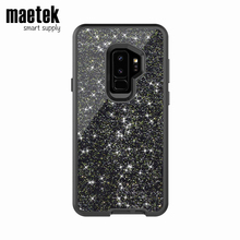 Hybrid Bling Phones Casing Shell Cases Tpu Pc Glitter Smart Back Covers Mobile Cover Cell Phone Case For Samsung Galaxy S9
