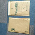 Wholesale Kraft Bubble Mailer White Gold Brown