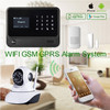 Wireless home intruder alarm system 2016 best wireless WIFI GSM alarm system support English/Spanish/Dutch/Russian