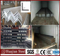 Angle steel factroy price/ Hot rolled equal width steel angles in L shape actual weight prices