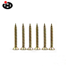Screw Fasteners Factory M3.5 M4 M5 Colored Wood Screw