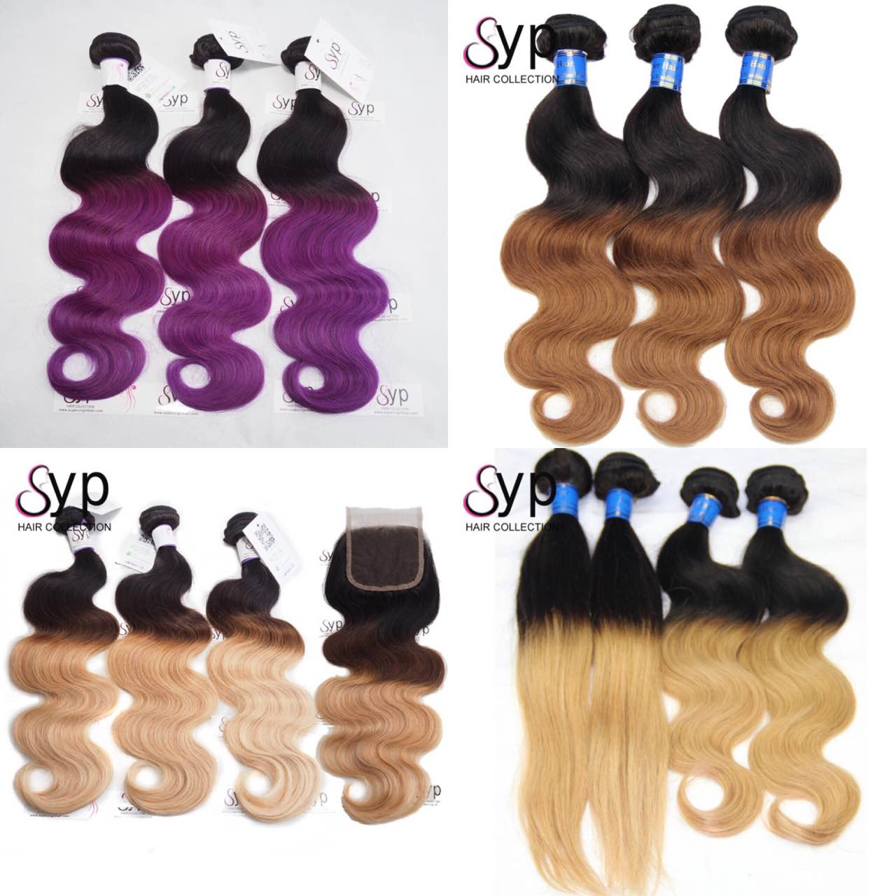 Dark Root Pink Ombre Hair Bundle, 1b 422 Ombre Straight Body Wave Brazilian Hair Weft Colored Virgin Extension Weave