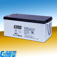 Rechargeable maintenance free deep cycle high capacity 12v 200Ah battery